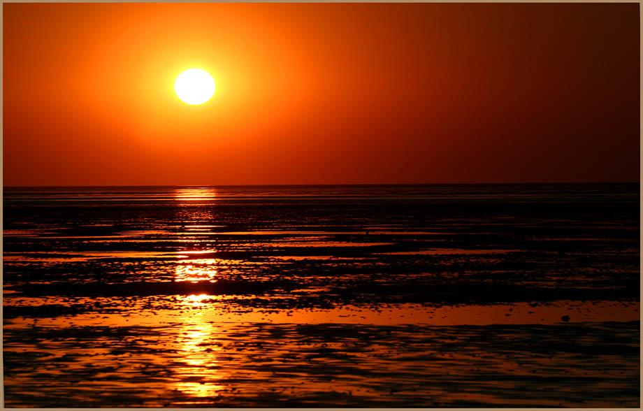der Tag hat sich geneiget.... ein Abend an der Nordsee ....