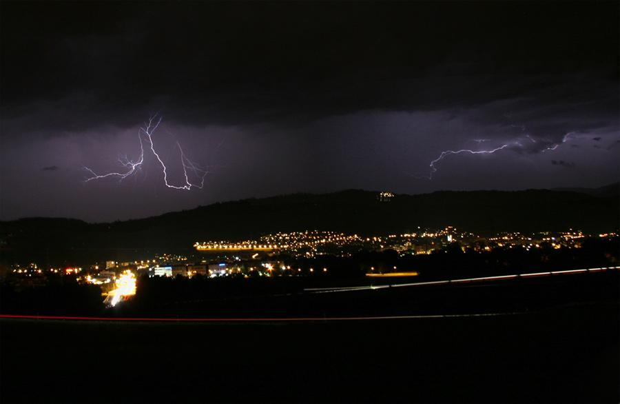 Der Tanz der Blitze