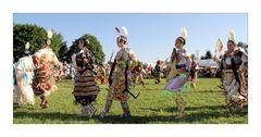 der Tanz der Indianer Frauen