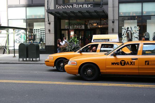 Der Taxi-Fahrer in NY