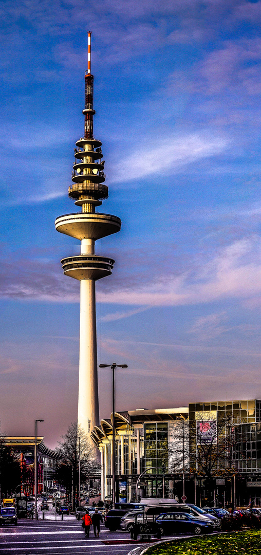 Der Telemichel von Hamburg.