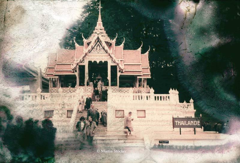 Der Thailand-Pavillion auf der Expo