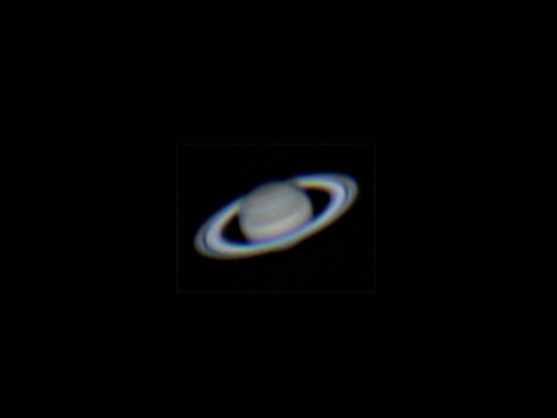 Der tief stehende Saturn am 02.06.2014