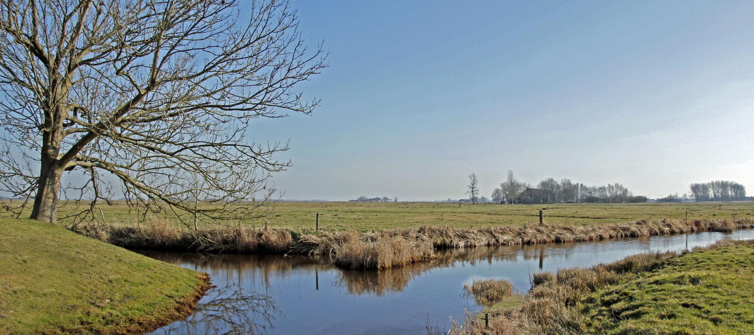 Der tiefste Punkt Deutschlands -Wynhamster Kolk- in Ostfriesland