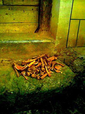 Der Tod auf der Kirchentreppe