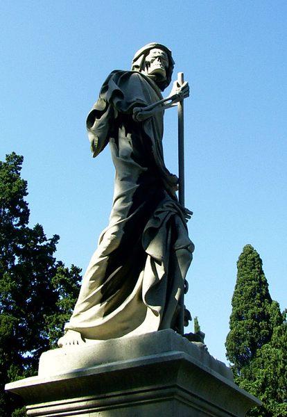 Der Tod wacht auch über Florenz