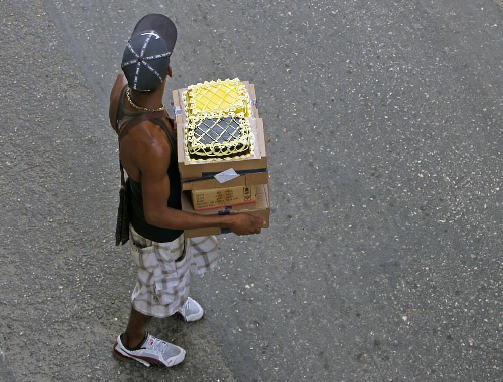 ..der Tortenverkäufer..