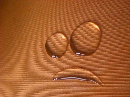 Der traurige Klecks...