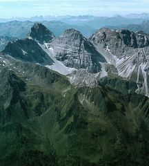 Der Tribulaun in den Stubaier-Alpen