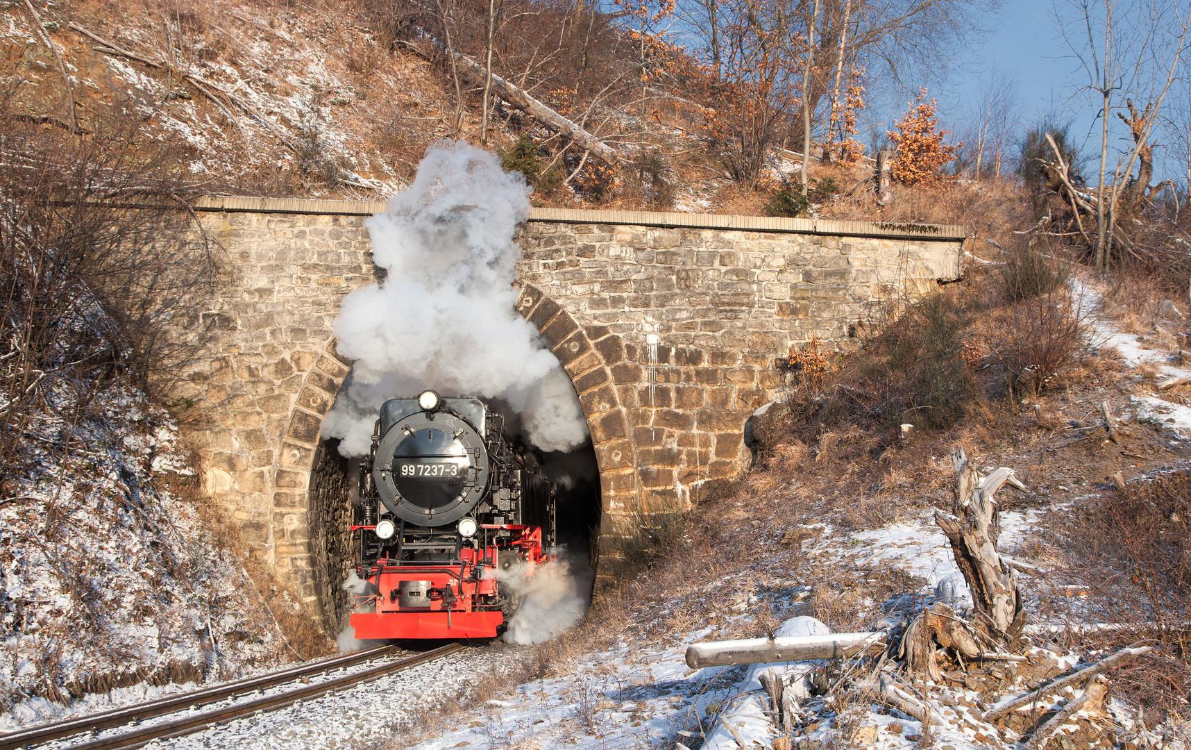 Der Tunnel am Kleinen Thumkuhlenkopf ...