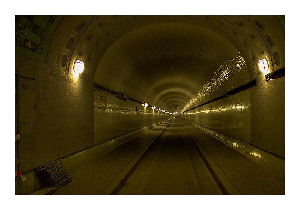 Der Tunnel unter der Elbe