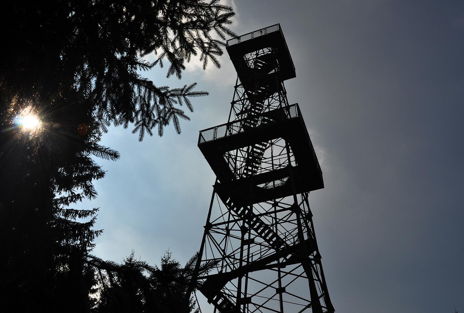Der Turm auf dem Poppenberg