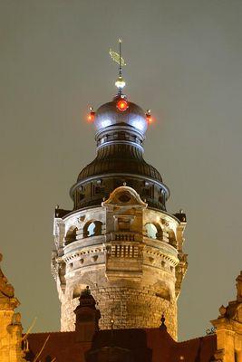 Der Turm vom Neuen Rathaus