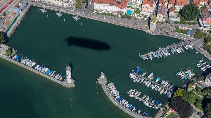 """Der """"U-Boot-Hafen"""" von Lindau"""