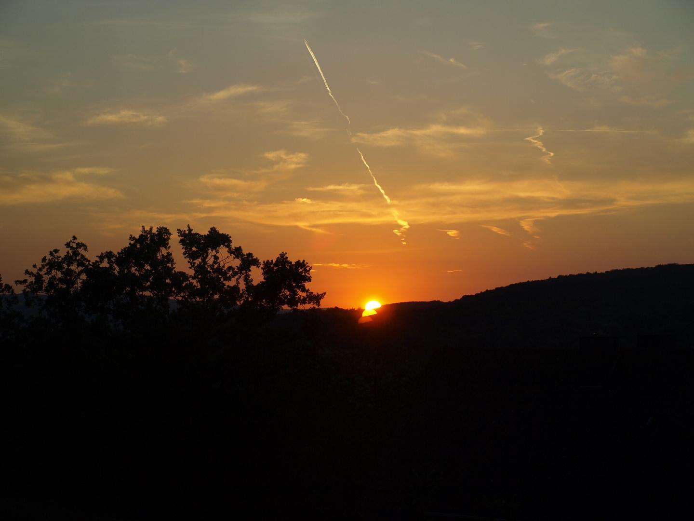Der Untergang der Sonne