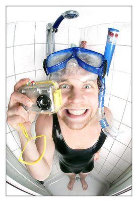 Der Unterwasserfotograf