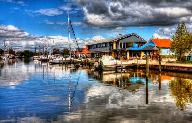 Der Vareler Hafen
