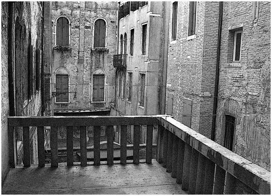 Der venezianische Balkon