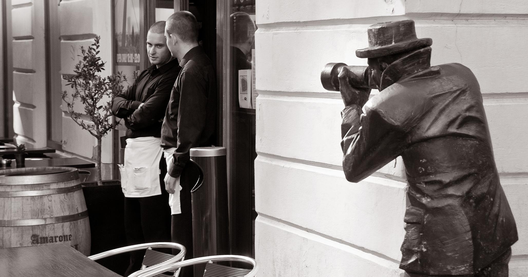 Der versteinerte Fotograf
