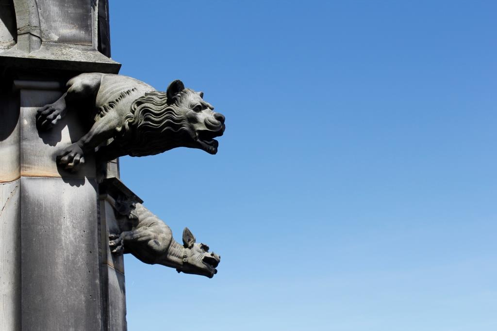 Der versteinerte Löwe