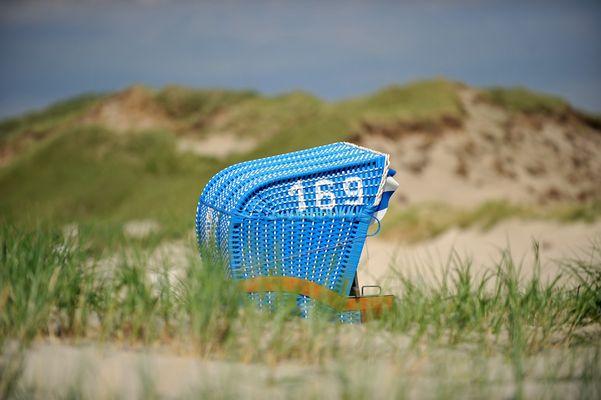 der versunkene Strandkorb