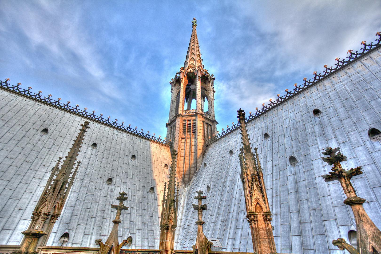 Der Vierungsturm des Doms zu Köln