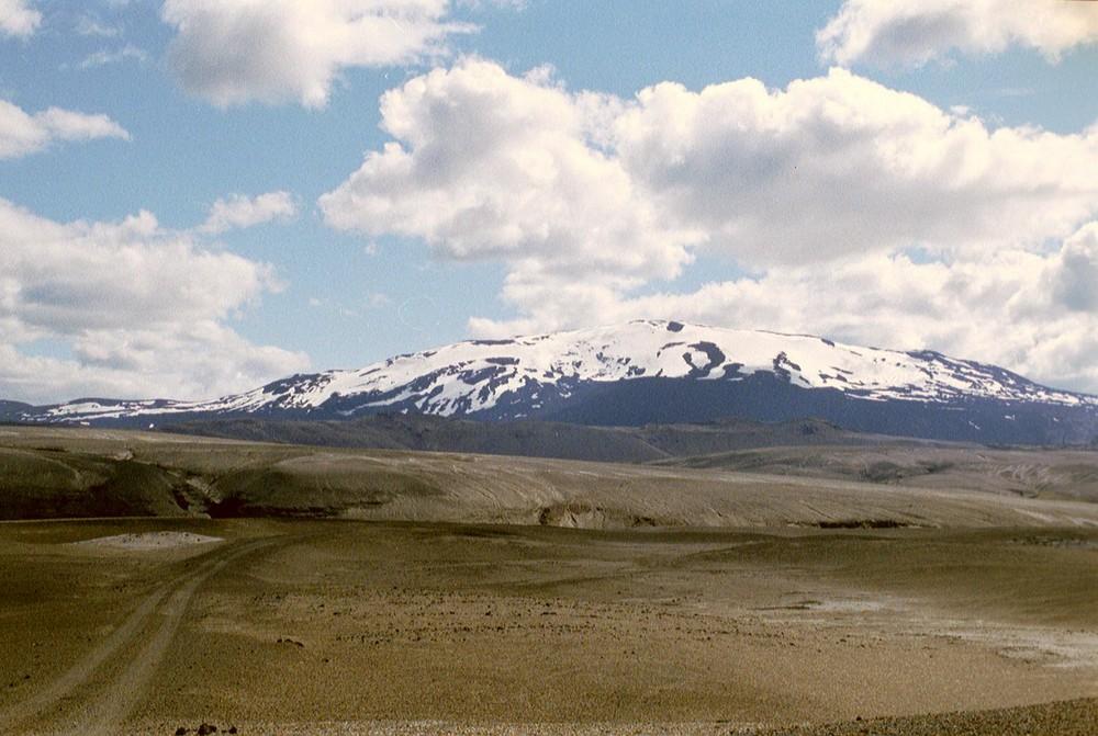 """Der Vulkan """"Hekla"""""""