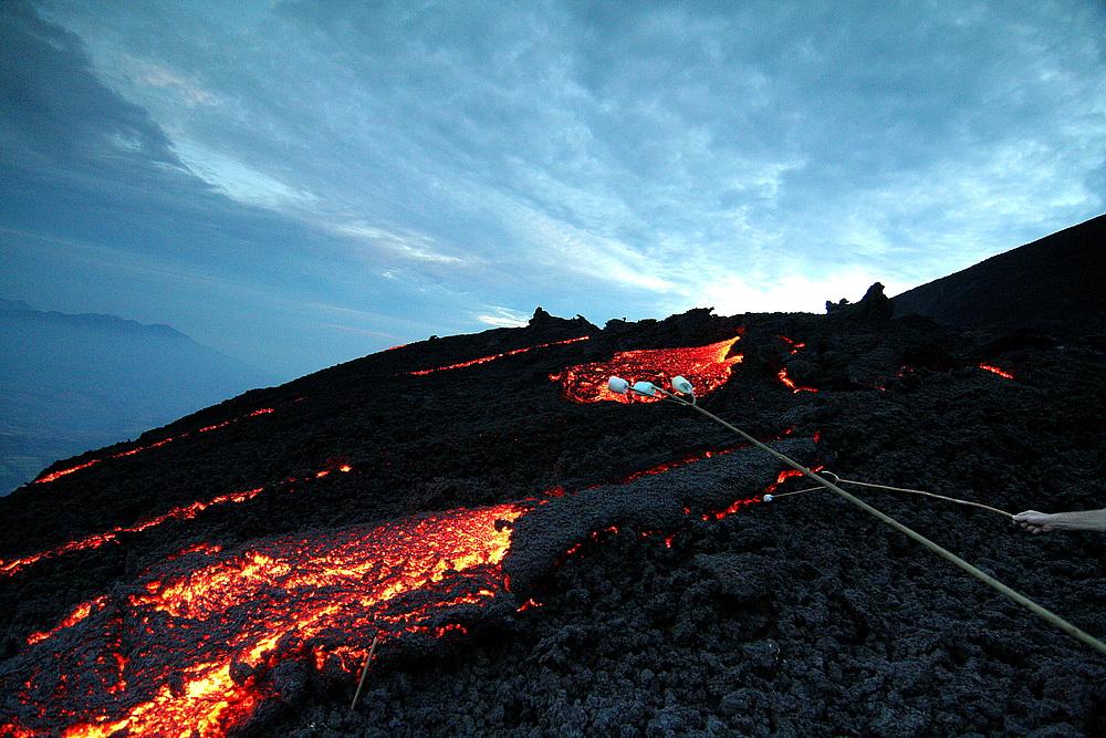Der Vulkan Pacaya - Guatemala