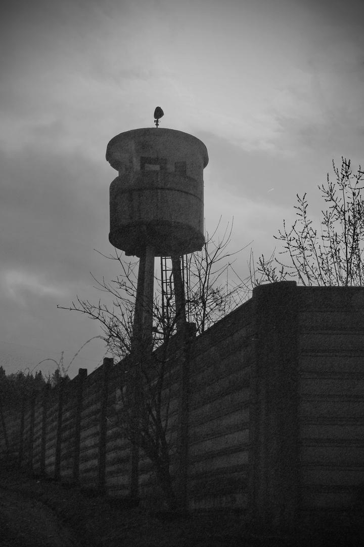 Der Wachturm - ein stiller Mahner