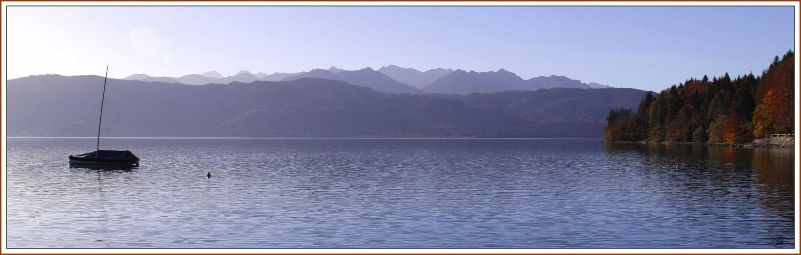 Der Walchensee..