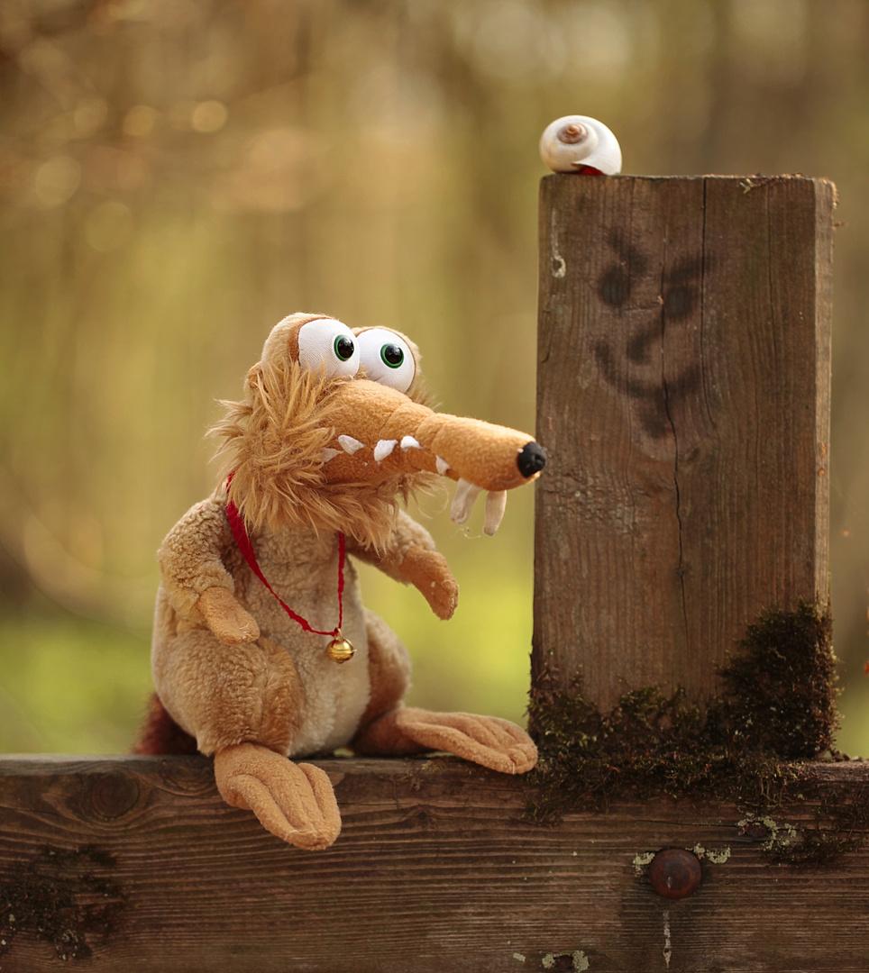 Der Waldgeist im Holz