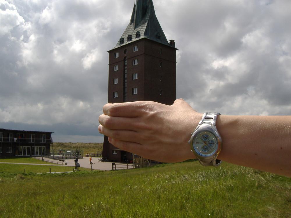Der Wangerooger Westturm zum Mitnehmen ;-)