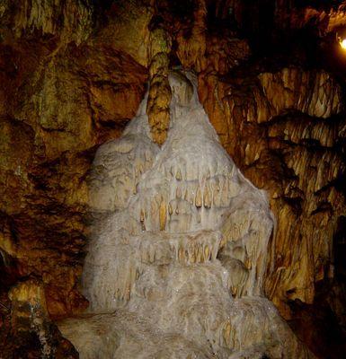Der Wasserfall aus Stein
