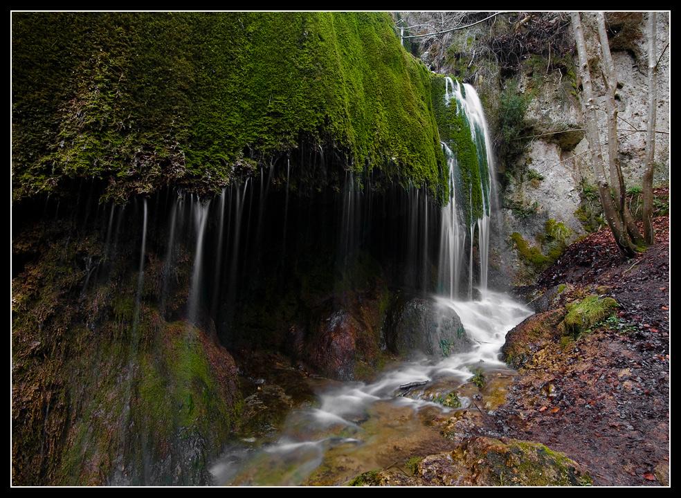 Der Wasserfall von Dreimühlen