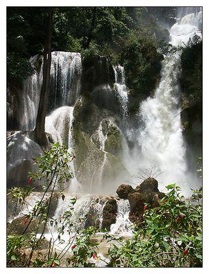 Der Wasserfall von Kuang Si - Luang Prabang, Laos