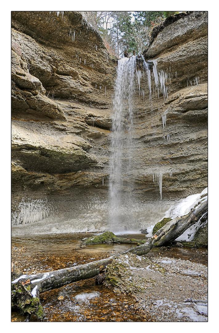Der Wasserfall von Pähl