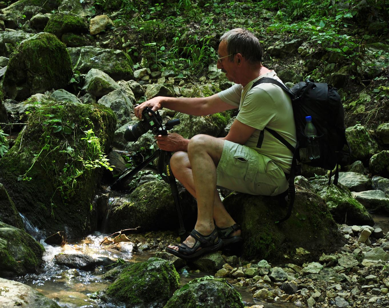 Der Wasserfotograf