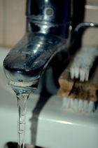 Der Wasserhahn begeisterte mich.