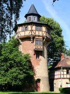 Der Wasserturm im Schlosspark von Tannfeld