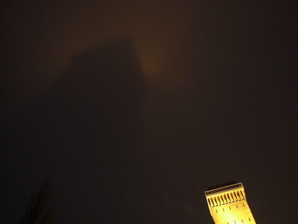 Der Wasserturm in Finow ....
