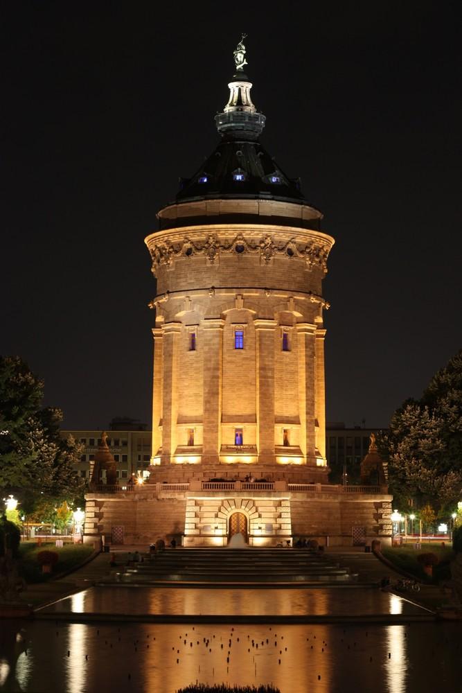 Der Wasserturm in Mannheim
