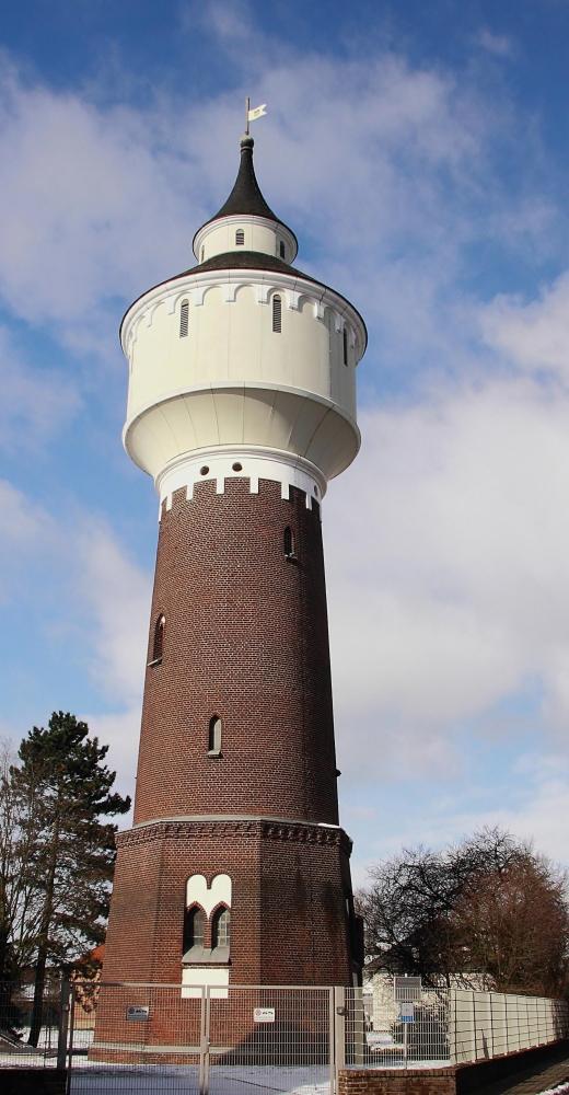 der Wasserturm ....mitten in Hüls