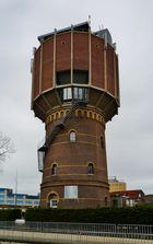 der Wasserturm von Alkmaar ...