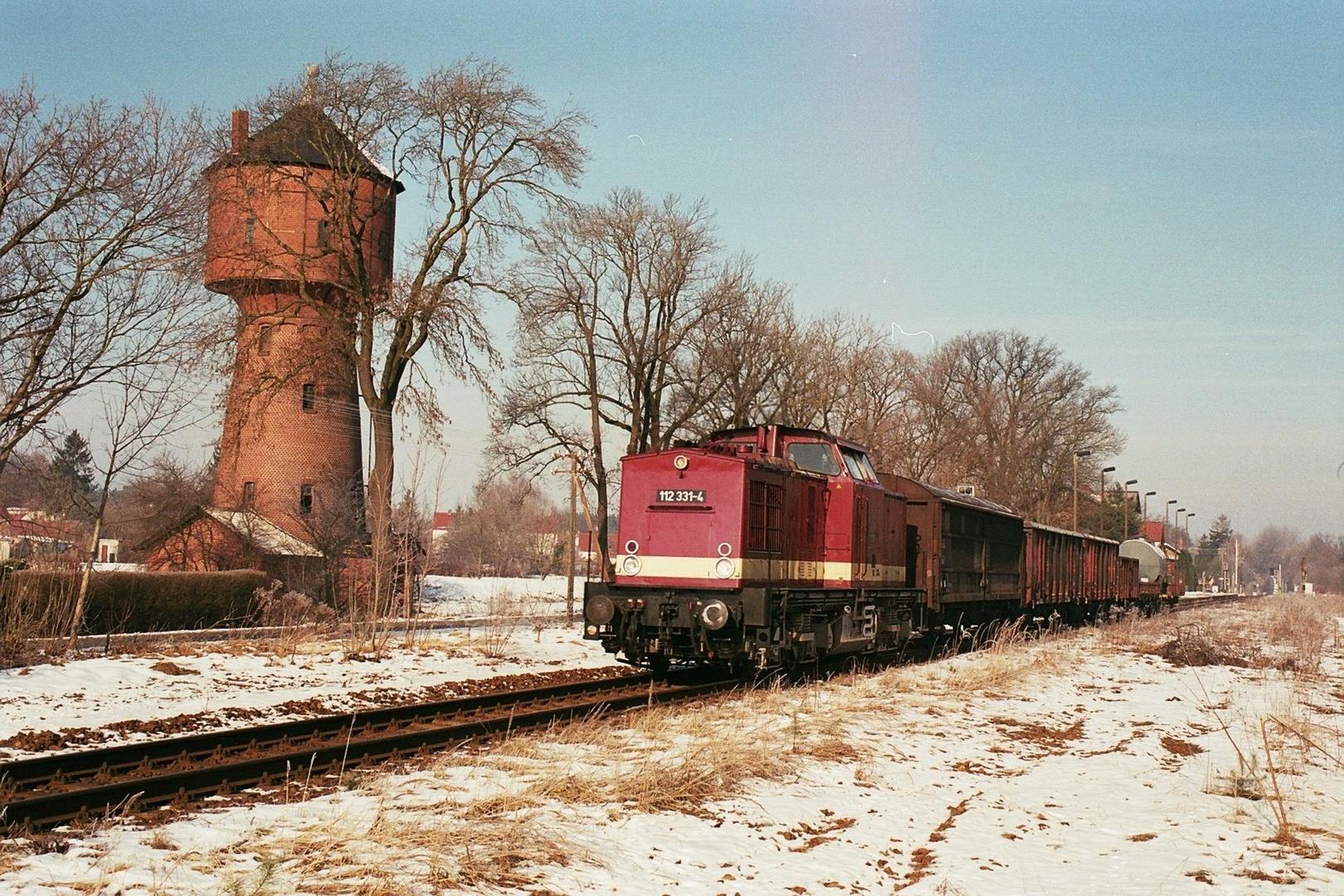 Der Wasserturm von Uhsmannsdorf