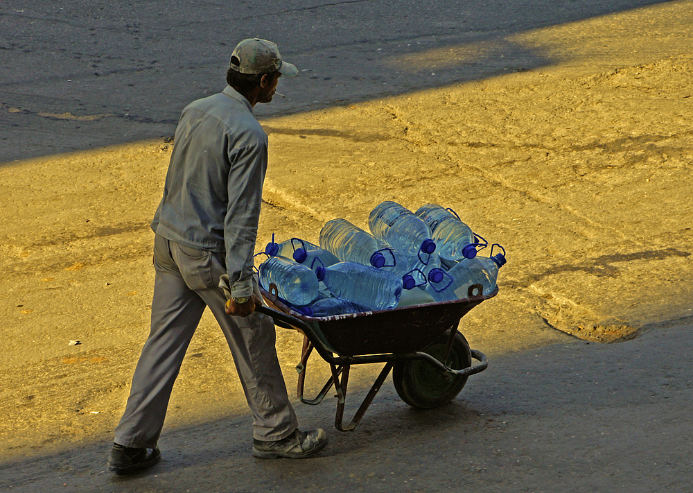 ..der Wasserverkäufer..