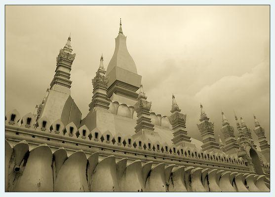 Der Wat That Luang II - Vientiane, Laos
