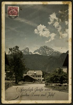 Der Watzmann 1912