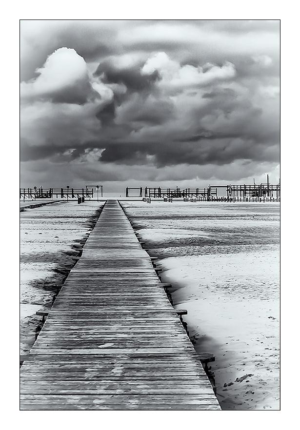 der Weg ans Meer