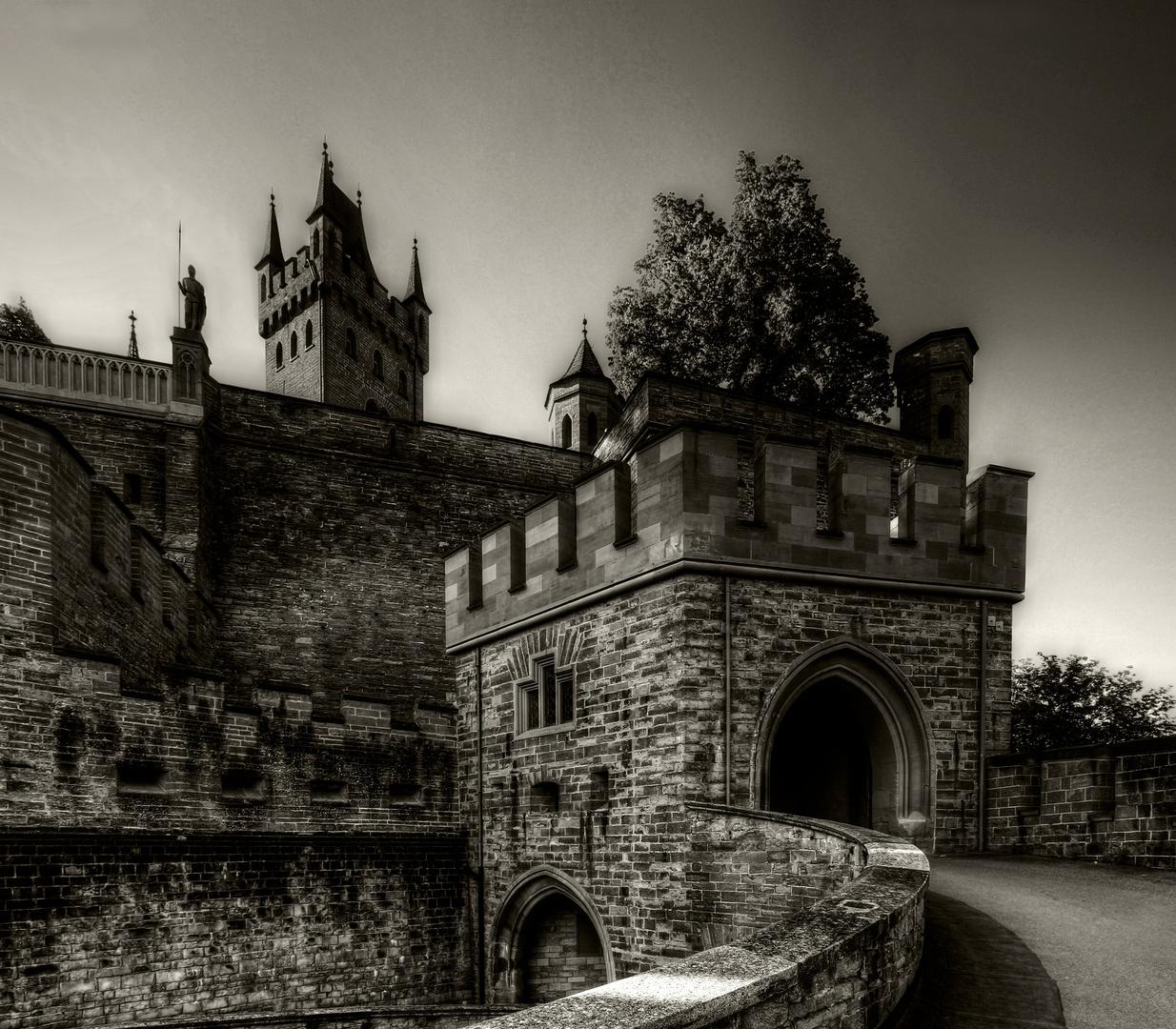 Der Weg in die Festung