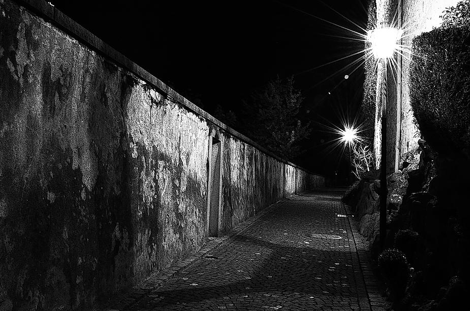 der Weg in die Nacht